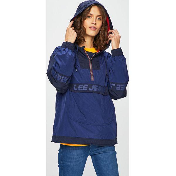 3bbb450d38b9c7 Lee - Kurtka - Niebieskie kurtki damskie Lee, l, bez wzorów, z ...