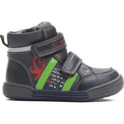 Granatowo-Zielone Buty Sportowe On The Road. Niebieskie buty sportowe chłopięce Born2be, z materiału. Za 59.99 zł.