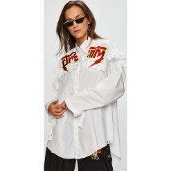 Diesel - Koszula. Szare koszule damskie Diesel, z długim rękawem. Za 759.90 zł.