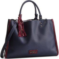 Torebka NOBO - NBAG-F0640-C013 Granatowy. Niebieskie torebki do ręki damskie marki Nobo, ze skóry ekologicznej. W wyprzedaży za 159.00 zł.