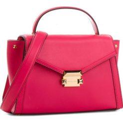 Torebka MICHAEL MICHAEL KORS - Whitney 30T8GXIS2L Rose Pink. Czerwone torebki do ręki damskie MICHAEL Michael Kors, ze skóry. W wyprzedaży za 989.00 zł.