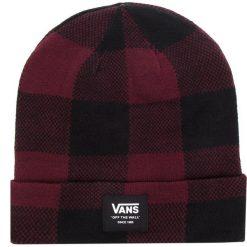 Czapka VANS - Mte Cuff Beanie VN0A3HJ95U8 Port Royale/Bla. Czarne czapki i kapelusze męskie Vans. Za 99.00 zł.