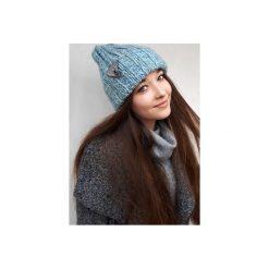 Czapka CHAPOOSIE Blue SURF Beanie. Niebieskie czapki i kapelusze damskie Chapoosie. Za 103.20 zł.