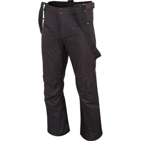 e074480cd Spodnie narciarskie męskie SPMN251 - głęboka czerń - Spodnie ...