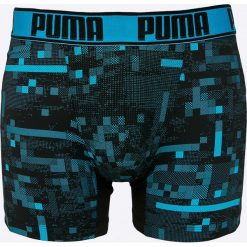 Puma - Bokserki (2-pack). Niebieskie bokserki męskie Puma, z dzianiny. W wyprzedaży za 79.90 zł.