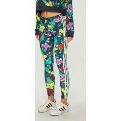 Adidas Originals - Legginsy. Szare legginsy damskie adidas Originals, z elastanu. Za 169.90 zł.