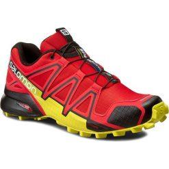 Buty SALOMON - Speedcross 4 381154 27 V0 Radiant Red/Black/Corona Yellow. Czerwone buty sportowe męskie Salomon, z materiału. W wyprzedaży za 369.00 zł.