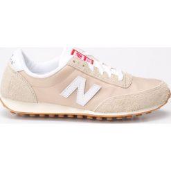 New Balance - Buty. Szare obuwie sportowe damskie New Balance, z materiału. W wyprzedaży za 179.90 zł.