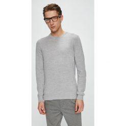 Casual Friday - Sweter. Szare swetry przez głowę męskie Casual Friday. W wyprzedaży za 139.90 zł.