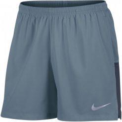 Nike Spodenki Do Biegania M Nk Flx Chllgr Short 5in M. Szare krótkie spodenki sportowe męskie Nike. W wyprzedaży za 99.00 zł.