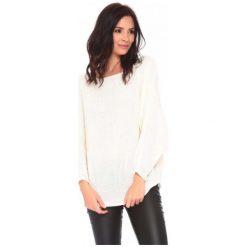 La Belle Parisienne Sweter Damski Caroline L Biały. Białe swetry damskie La Belle Parisienne. Za 129.00 zł.