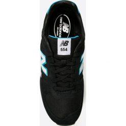 New Balance - Buty ML554JB. Czarne buty sportowe męskie New Balance, z materiału. W wyprzedaży za 219.90 zł.