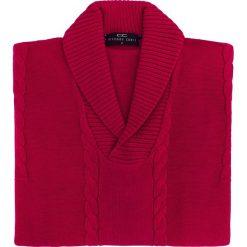 Sweter PAOLO WP 15-80CS. Czerwone swetry przez głowę męskie Giacomo Conti, z bawełny. Za 229.00 zł.