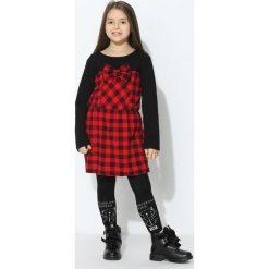 Czerwono-Czarna Sukienka Sweet Mate. Sukienki niemowlęce marki Reserved. Za 29.99 zł.