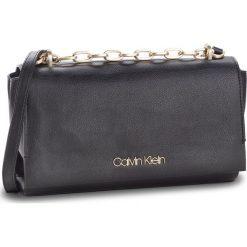 Torebka CALVIN KLEIN - Frame Shoulder Bag K60K604593 001. Czarne listonoszki damskie Calvin Klein, ze skóry ekologicznej. Za 599.00 zł.