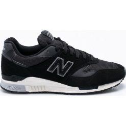 New Balance - Buty ML840AI. Czarne buty sportowe męskie New Balance, z materiału. W wyprzedaży za 319.90 zł.