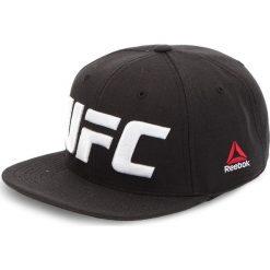 Czapka z daszkiem Reebok - Ufc Flat Peak Cap CZ9904 Black. Czarne czapki i kapelusze męskie Reebok. Za 119.00 zł.