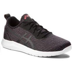 Buty ASICS - Kanmei 2 1022A011  Black/Black 001. Czarne obuwie sportowe damskie Asics, z materiału. W wyprzedaży za 189.00 zł.