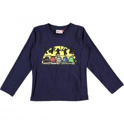 """Koszulka """"Thomas 716"""" w kolorze granatowym. Zielone t-shirty dla chłopców marki Lego Wear Fashion, z bawełny, z długim rękawem. W wyprzedaży za 59.95 zł."""