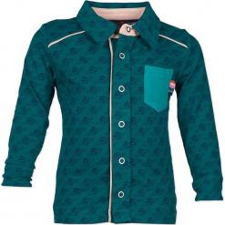 """Koszula """"1234"""" w kolorze morskim. Koszule dla chłopców marki bonprix. W wyprzedaży za 82.95 zł."""