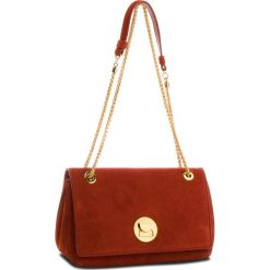 Torebka COCCINELLE - CD Liya Suede E1 CD1 12 03 01 Bourgogne/Bourg R00. Czerwone torebki do ręki damskie Coccinelle, ze skóry. W wyprzedaży za 979.00 zł.