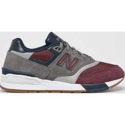 New Balance - Buty ML597BGN. Szare buty sportowe męskie New Balance, z gumy. Za 399.90 zł.