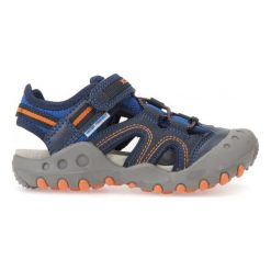 Geox Sandały Chłopięce Kyle, 33 Niebieski. Niebieskie buty sportowe chłopięce Geox. W wyprzedaży za 169.00 zł.