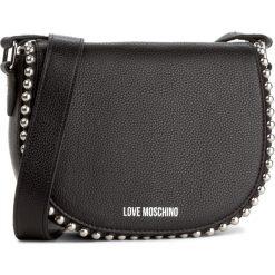 Torebka LOVE MOSCHINO - JC4125PP15L20000 Nero. Czarne listonoszki damskie Love Moschino, ze skóry. W wyprzedaży za 529.00 zł.