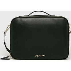 Calvin Klein - Torba na laptopa. Czarne torby na laptopa damskie Calvin Klein. Za 579.90 zł.