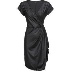 Sukienka z założeniem kopertowym bonprix czarny. Sukienki damskie marki MAKE ME BIO. Za 89.99 zł.