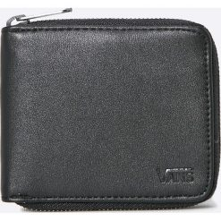 Vans - Portfel. Czarne portfele męskie Vans, z materiału. W wyprzedaży za 99.90 zł.