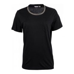 Mustang T-Shirt Damski S Czarny. Czarne t-shirty damskie Mustang, z materiału, z okrągłym kołnierzem. W wyprzedaży za 106.00 zł.