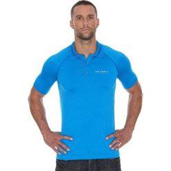 Brubeck Koszulka męska polo Prestige z krótkim rękawem niebieska r. XL (SS10920). Koszulki polo męskie Brubeck, z krótkim rękawem. Za 105.55 zł.