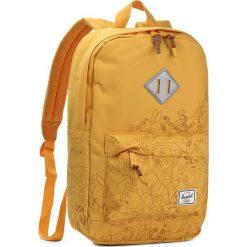 Plecak HERSCHEL - Heritage M 10019-01037 Hny/Winnie. Żółte plecaki damskie Herschel, z materiału, sportowe. W wyprzedaży za 239.00 zł.