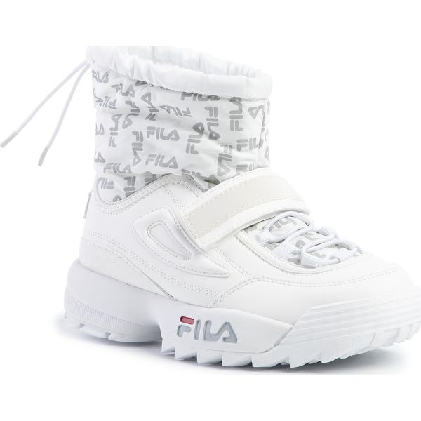 Śniegowce FILA Disruptor Neve Mid Wmn 1010750.1FG White
