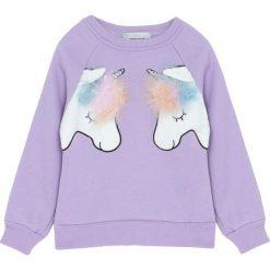 Jasnofioletowa Bluza Fresh Ideas. Fioletowe bluzy dla dziewczynek Born2be. Za 59.99 zł.