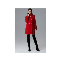 Płaszcz M623 Czerwony. Czerwone płaszcze damskie Figl, eleganckie. Za 299.00 zł.