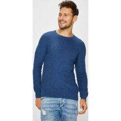 Medicine - Sweter Arty Dandy. Niebieskie swetry przez głowę męskie MEDICINE, z bawełny, z okrągłym kołnierzem. W wyprzedaży za 59.90 zł.