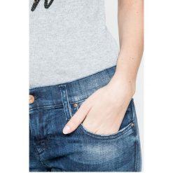 Diesel - Jeansy Gruppe-Ankle. Niebieskie jeansy damskie Diesel. W wyprzedaży za 599.90 zł.