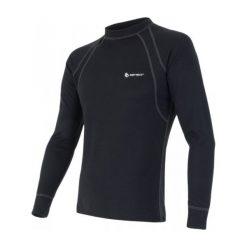 Sensor Koszulka Termiczna Double Face M Black L. Czarne t-shirty i topy dla dziewczynek Sensor, z długim rękawem. Za 125.00 zł.