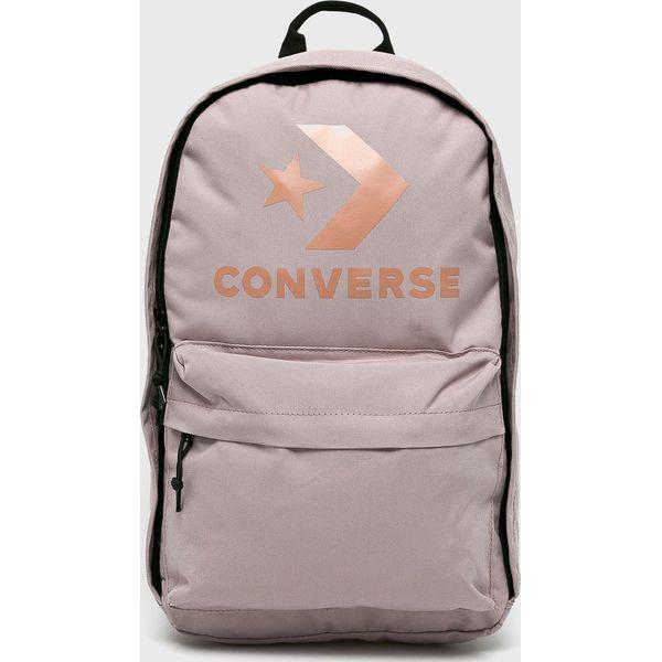 522ff073ab945 Converse - Plecak - Szare plecaki damskie marki Converse, z ...