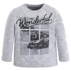 Koszulka w kolorze szarym. T-shirty dla chłopców marki Reserved. W wyprzedaży za 44.95 zł.