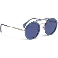 Okulary przeciwsłoneczne TOMMY HILFIGER - 1541/S Blue PJP. Szare okulary przeciwsłoneczne damskie marki Giacomo Conti, na zimę, z tkaniny. W wyprzedaży za 479.00 zł.