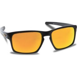 Okulary przeciwsłoneczne OAKLEY - Sliver OO9262-27  Polished Black/Fire Iridium. Czarne okulary przeciwsłoneczne męskie Oakley, z tworzywa sztucznego. W wyprzedaży za 509.00 zł.