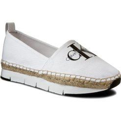 Espadryle CALVIN KLEIN JEANS - Genna R3768 White. Białe espadryle damskie Calvin Klein Jeans, z jeansu. W wyprzedaży za 299.00 zł.