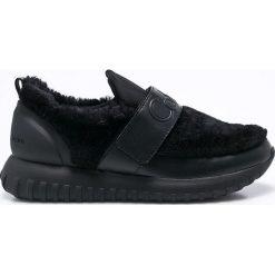 Calvin Klein Jeans - Buty Rachel Soft Nappa. Czarne obuwie sportowe damskie Calvin Klein Jeans, z jeansu. Za 599.90 zł.