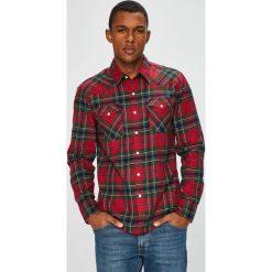 Levi's - Koszula. Brązowe koszule męskie Levi's, w kratkę, z bawełny, z klasycznym kołnierzykiem, z długim rękawem. Za 299.90 zł.