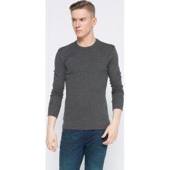 Henderson - Longsleeve. Szare bluzki z długim rękawem męskie Henderson, z bawełny, z okrągłym kołnierzem. Za 39.90 zł.