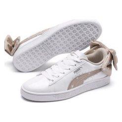 Puma tenisówki dziewczęce Basket Bow Dots Jr Puma White Silver Gray 37