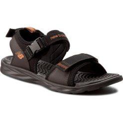 Sandały NEW BALANCE - M2067BR Brązowy. Brązowe sandały męskie New Balance, z materiału. W wyprzedaży za 169.00 zł.